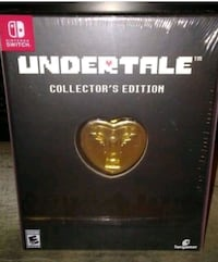 Nintendo switch undertale collectors edition Tucson, 85705