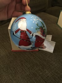 Christmas  ornament by artist Li Bien Hacienda Heights, 91745