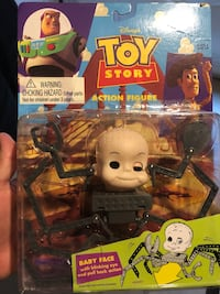 Baby Face Blinking Eye Toy Story Vintage Action Figure Thinkway 1995
