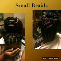 black and red braided hair Camp Springs, 20746