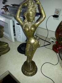 """18"""" brass figure price is firm 45 year old Alexandria, 22315"""