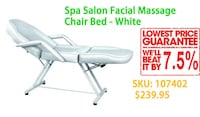 SPA/Facial/Eyelash Table/bed, Hydraulic height, From $170!! 多伦多