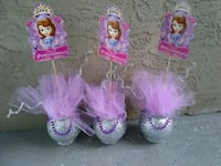 pink and purple party favors Orlando, 32825