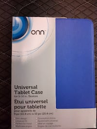 ONN UNIVERSAL TABLET CASE FOR 9-10 INCH DEVICE BLUE Montreal East