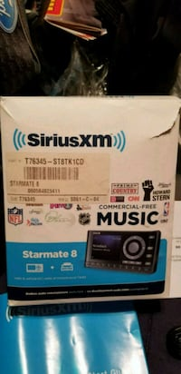SiriusXM Starmate 8 radio and vehicle kit  Vaughan, L6A 1N5