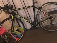 black and yellow road bike Washington, 20011