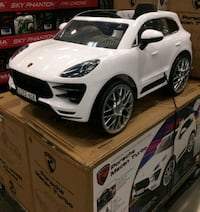 Porche Macan Kids ride on Car Calgary, T3K