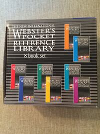 Webster Pocket Reference Library