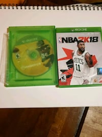 Madden 19 and 2k18 in great condition promise  for xbox Harrisburg, 57032