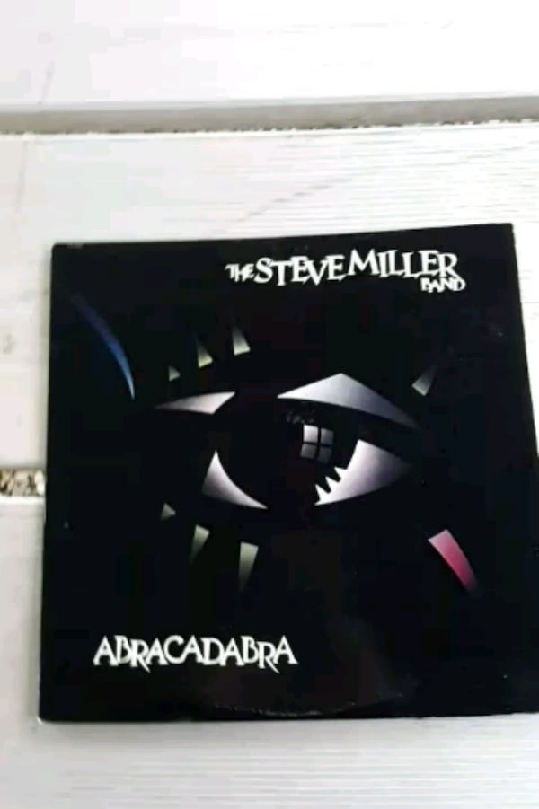 "The Steve Miller Band ""Abracadabra"" vinyl album 0"
