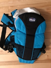 blue and black Chicco backpack Laval, H7S 1Z4