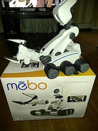 white and black Mebo robotic alter ego Stamford, 06902