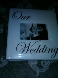 Wedding album and picture frame