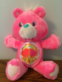"Care Bears Vintage Environmental Love A Lot 13"" Plush Kenner 1991 Excellent Condition Granger"