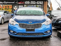 2014 kia forte lx with 71,320km and 100% approved financing Ajax