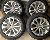 BRAND NEW CONDITION 4 x 235/60/18 TIRES AND AUDI RIMS  $$1200 Mississauga, L5B 3C9