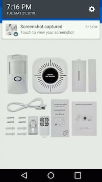 Wifi wireless home security system