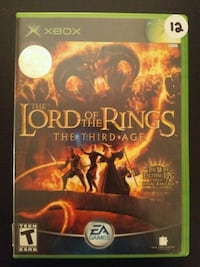 Xbox Lord of the Rings the Third Age  Vaughan, L4L