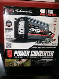 New Schumacher 410 Watts Power Converter 120 VAC Saint Joseph, 56374