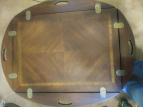 Butler's style coffee table
