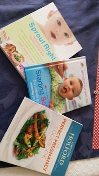 3 books nutrition  Brampton, L7A 0B5