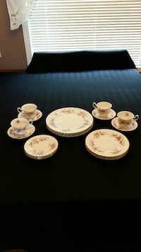 Lavender Rose Royal Albert 20 piece set  Calgary, T3K 4H5