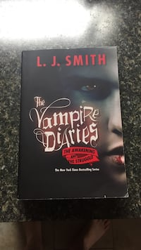 The Vampire Diaries book Ridgeley, 26753