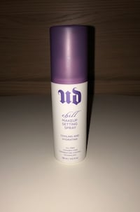 Authentic UD Chill Makeup Setting Spray, cooling & hydrating. Brand new. San Jose