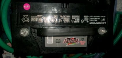 Interstate high cycle truck batterys
