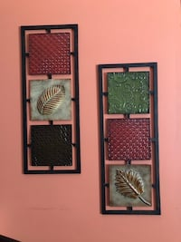two brown wooden framed wall decors Cumming, 30040