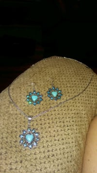 Floral turquoise set Greeneville, 37743