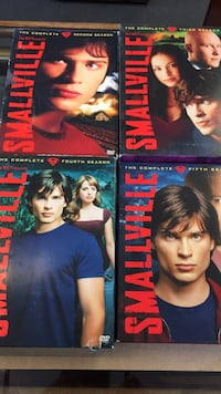 Smallville seasons 2,3,4,5 London, N6B