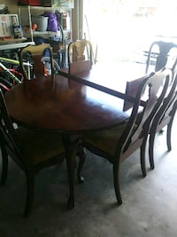 brown wooden dining table set Katy, 77450