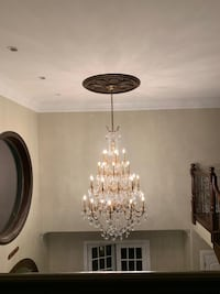 77 inch Crystal Chandelier