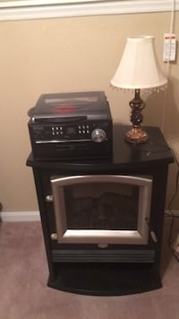 black and gray electric fireplace Johnson City, 37601