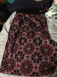 Black and pink floral yoga pants 3x Haverhill, 01835