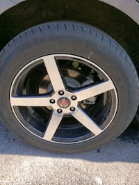 "18"" rims with tires  The Bronx, 10474"