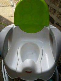 white and green plastic potty trainer Schaumburg, 60196