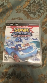 Sonic Unleashed PS3 game case Cambridge, N1S 1G4