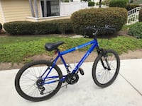 blue and black hardtail mountain bike Carlsbad, 92011