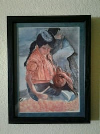 FRAMED WALL ART Manteca