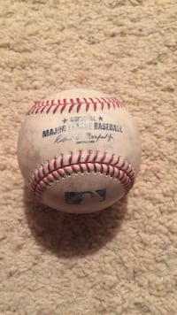 MLB Game Used Ball Highlands Ranch, 80129