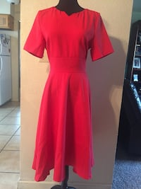 New red dress excellent condition Atwater, 95301