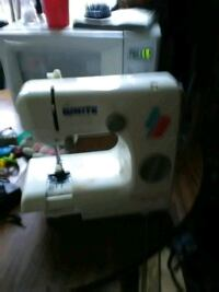 white Singer electric sewing machine Bethel, 45106