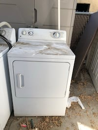 white front-load clothes dryer Altadena, 91001