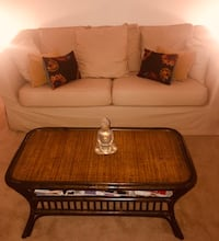 Light beige slip cover couch and light beige pillows only.  Must be able to pick-up. Stafford, 22556