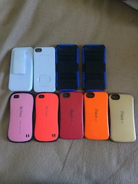 five assorted color smartphone cases Rothesay, E2H 1H8