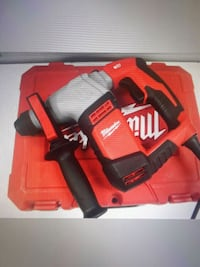 red and black Milwaukee cordless hand drill with case Miami