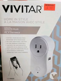 Vivitar Wireless Remote Plug  Toronto