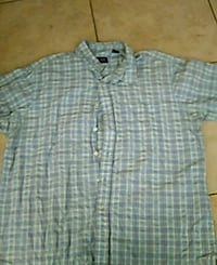 gray and white plaid button-up shirt Peoria, 85382
